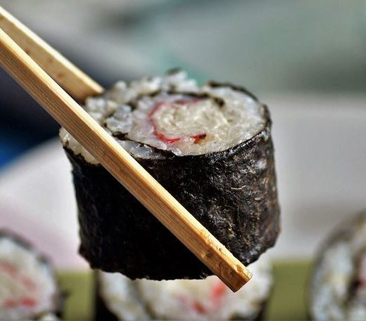 soy paper sushi